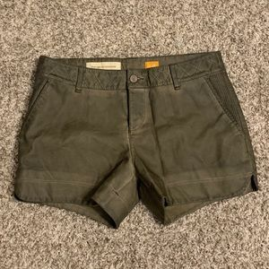 26 ANTHRO PILCRO VEGAN LEATHER SHORTS